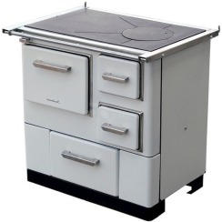 Отопительно-варочная печь MBS 3 L белая без крышки